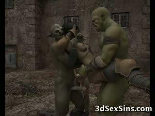 Ogres homosexual fierbinte al 3-lea prunci!