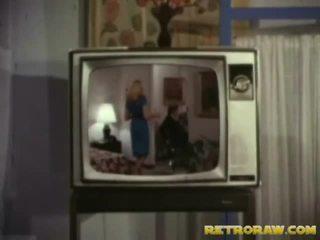 레트로 tv 표시 trio