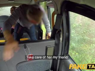 Fake taxi krūtainas sperma izsalcis blondīne skyler mckays netīras