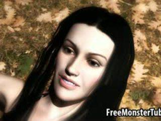 3d twilight babe getting geneukt hard door een vampier