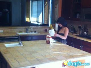 Horny Milf Eats Teen Taco Inside The Kitchen
