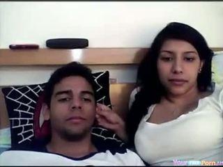 Indiana casal em câmara
