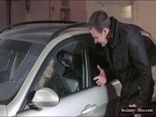 ボインの anissa kate ファック アット ザ· carpark