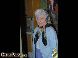 Omapass חם סבתות הצגה שלה רטוב כוס: חופשי פורנו 11