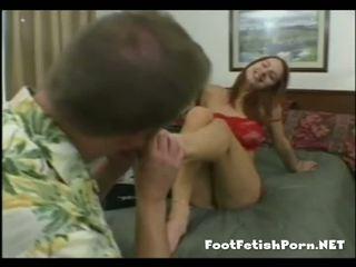 Licking unele sexy varfuri