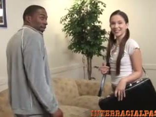 interracial, liels melns penis, teen
