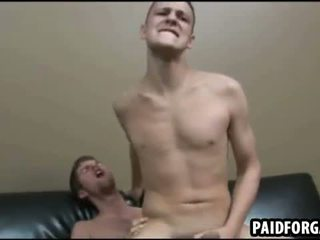 Estes two sexy amateru studs are having anal