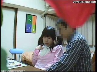 Seks tutorial wideo w students pokój