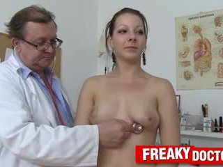 Hot Tarya King and old gynecologist