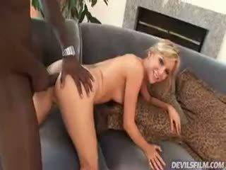 جميل alexa lynn enjoys having ل كبير أسود كوك إلى اللعنة