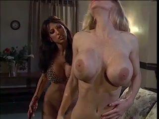 blondes, big boobs, lesbians
