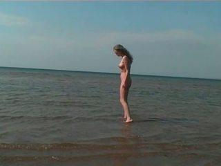 海灘, 高清色情