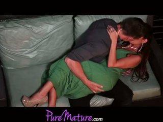 PureMature Seductive Mom Gets Banged On Balco