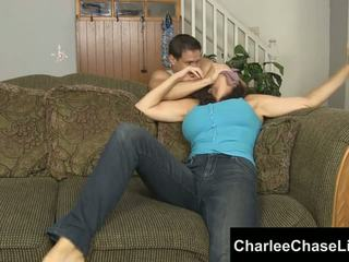 Charlee chase δεμένος tickled και πόδι πατήσαμε!