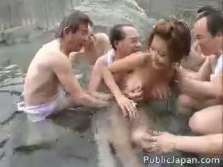 japoński, seks grupowy wielki, podglądanie oglądaj