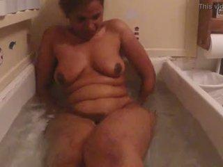 Desi meisje baden