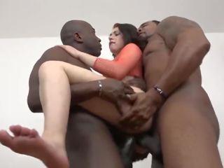 Teen Interracial Threesome Squirting Cum From Ass Hardcore Dp Anal Fucking
