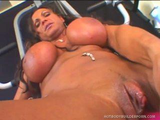 Rhonda lee works rod fontana s cinta muscle