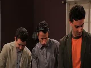 briunetė, grupinis seksas