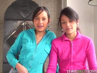 Tami fabiana และ diana delgado ใน hawt เซ็กส์ 4 คน