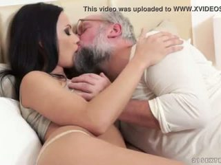 Busty Samantha Rebeka fucked by an old gentleman <span class=duration>- 5 min</span>