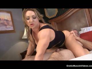Eroticmusclevideos brandimae dominates y pegs sucio