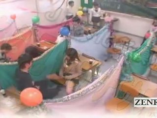 Subtitled japonia schoolgirls sala de clasa masturbation cafe