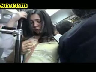 Milfka being fucked na autobus