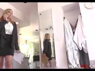 Hot Big Tits & Ass Cheating Wife Fucks Black Football