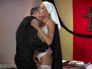 حار nuns jessica jaymes و nikki benz