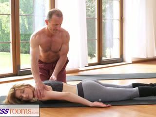 Fitnessrooms Dirty Yoga Teacher on Gorgeous Fitness.