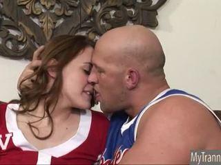 Menarik ts pemandu sorak hazel tucker anal