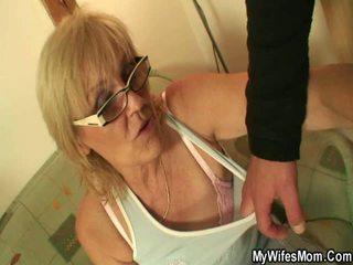दादी, titty भाड़ में जाओ, रसोईघर