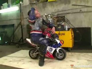 Ontzagwekkend biker