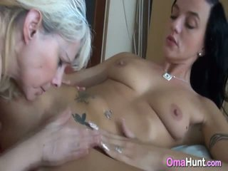 Lesbian Granny Licked By Young Lover