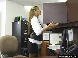plagen, office sex, mooie kont