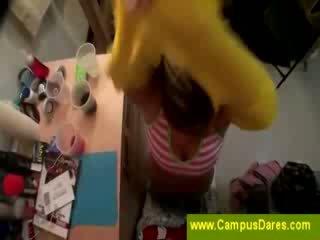 College Girls start an outrageous orgy