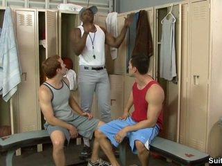 groupsex, muskulis, interracial