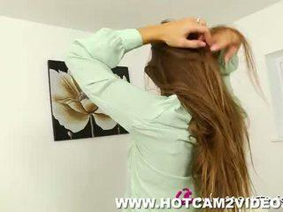 Sıcak seksi secretaries vücut ipek hotcam2video.com(new)