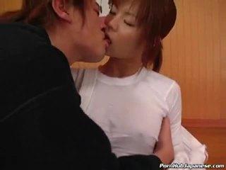 Ekkel japansk bitch knulling og suging