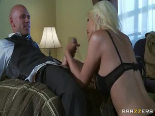 Gratuit grand mésange blonde en sauvage sexe action