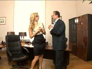 Hot secretary Aleska Diamond