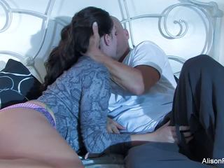 Mooi alison tyler gets banged in bed