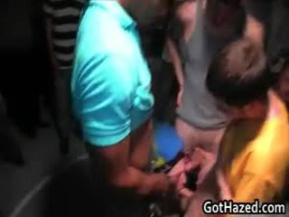 Новий новий коледж lads отримати homo hazed 19 по gothazed