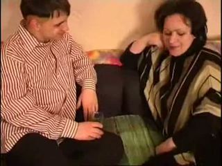 Russa mãe e filho gorda