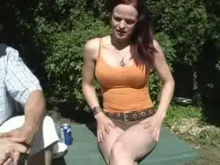 Tickle peeing her pants