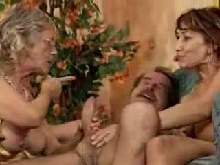 babunia, orgia, dojrzały