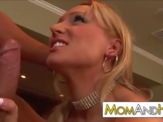 Blondine milf mam dianna pop, gratis porno video- 95