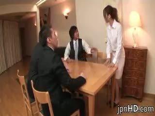 japanse, groepsseks, amateur