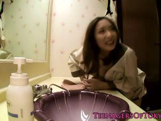 Nippon Teen Banged in Hotel Room, Free HD Porn 10